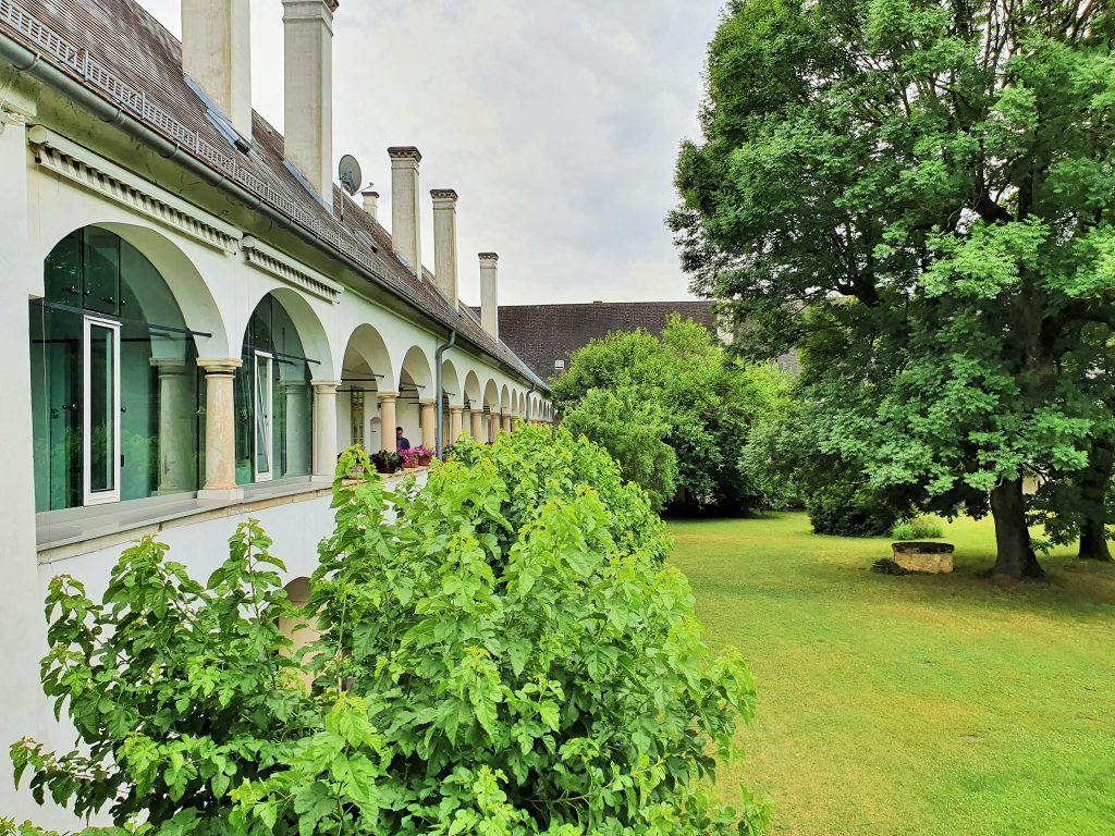 Esterházy Schlösser, Schloss Lackenbach mit Park