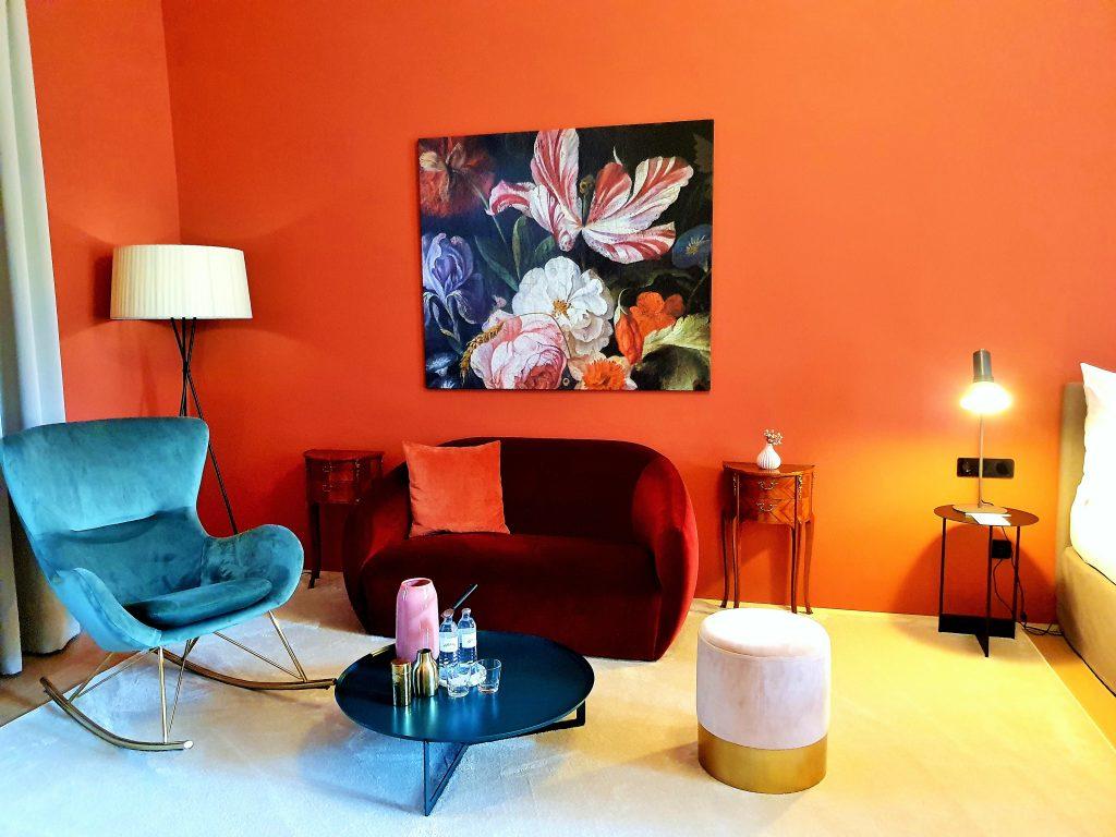 modern, stylisches Hotelzimmer