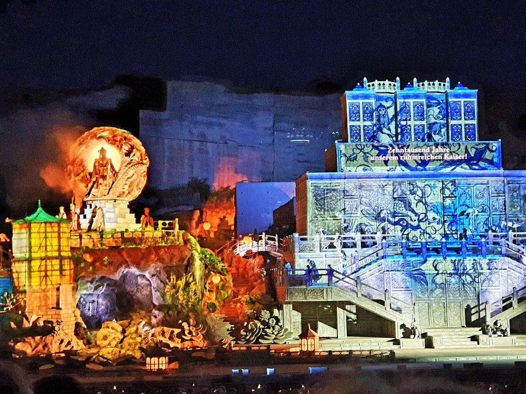 Turandot Oper im Steinbruch