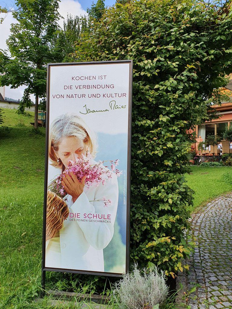 Tafel mit Johanna Maier Kochschule