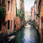 La Serenissima Kanal, Venedig im Winter