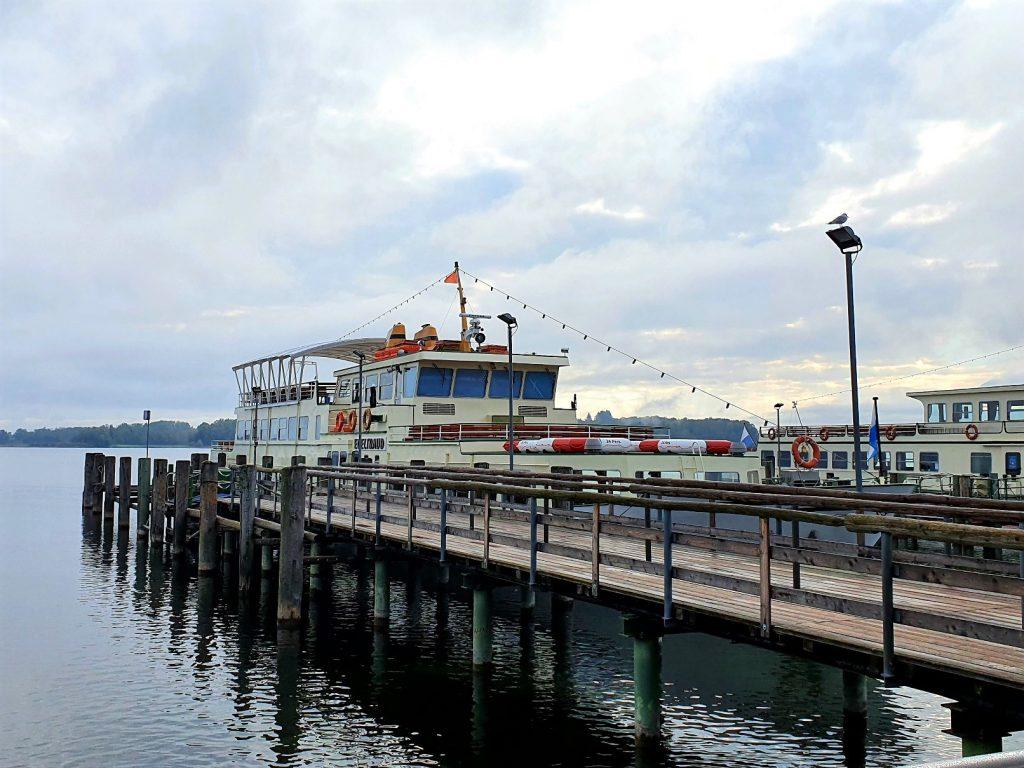 Chiemsee Schifffahrt Anlegestelle