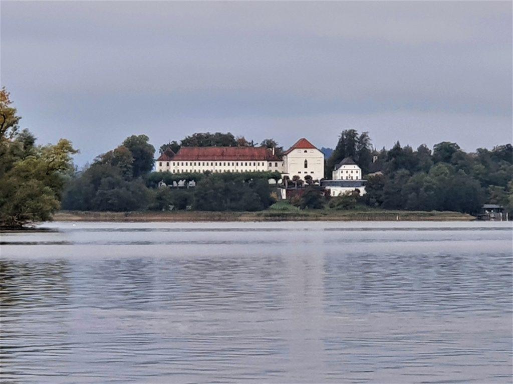 Fraueninsel im Chiemsee mit Kloster